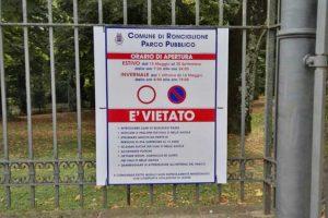 Ronciglione - Il parco comunale