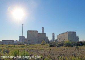 La centrale Enel di Montalto di Castro