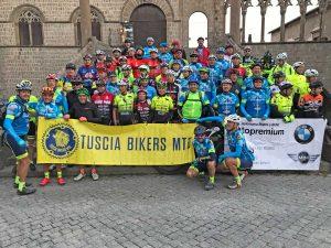 """I """"Tuscia Bikers MTB"""" alla """"Francigena in Mtb"""""""
