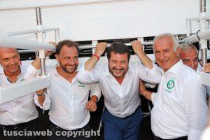 Matteo Salvini sotto Gloria