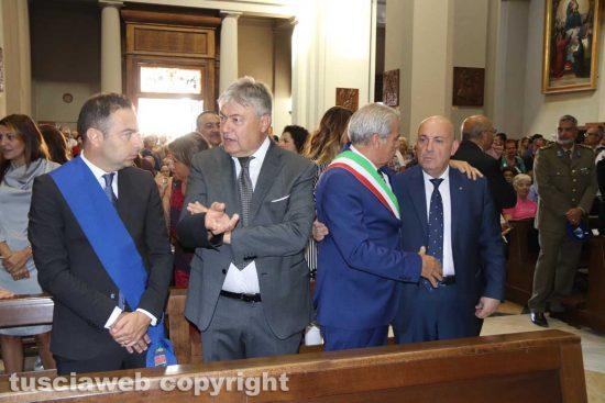 Viterbo - Santa Rosa - La messa del 4 settembre - Nocchi, Fusco, Arena e Bruno
