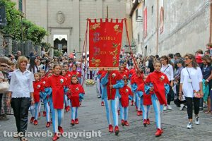Viterbo - Santa Rosa - Corteo storico - I Boccioli