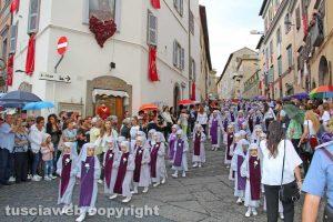 Viterbo - Santa Rosa - Corteo storico - Le Rosine