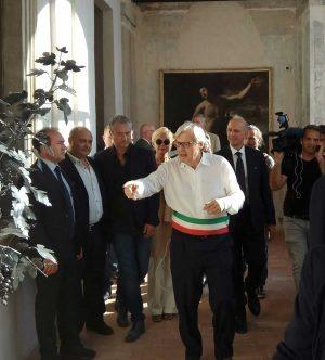 Sutri - Vittorio Sgarbi a Palazzo Doebbing