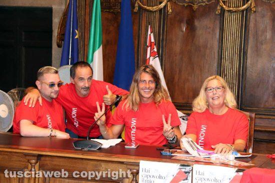 Viterbo - Admo - Alberto Mezzetti alla conferenza stampa