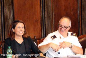 Claudia Nunzi a Agostino Fanelli