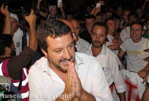 Santa Rosa 2018 - Salvini al trasporto di Gloria