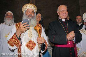 Viterbo - I vescovi Barnaba Soriani e Lino Fumagalli
