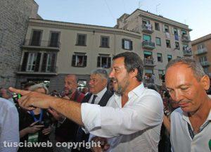 Trasporto della macchina di Santa Rosa 2018 - Il ministro degli Interni Matteo Salvini