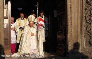 Viterbo - Basilica della Madonna della Quercia - La chiusura della porta santa