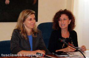 La professoressa Ines Delfino e la prorettrice Anna Maria Fausto