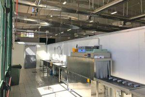 Viterbo - Il centro cottura per la mensa scolastica
