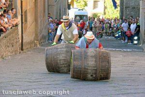 Viterbo - Festa dell'uva - Palio delle botti - Foto di repertorio