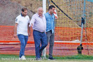 Sport - Calcio - Viterbese - Piero Camilli e i figli Vincenzo e Luciano