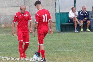 Sport - Calcio - Monterosi - Federico Alonzi e Daniele Nohman
