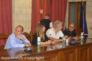 Tarquinia– Il consiglio comunale - I banchi della maggioranza