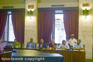 Tarquinia– Il consiglio comunale - I banchi della minoranza