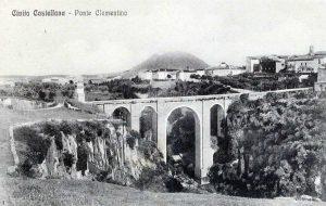 Civita Castellana - Ponte Clementino dopo la ricostruzione