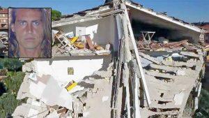 Terremoto a Tolentino - Nel riquadro: Alberto Mezzetti