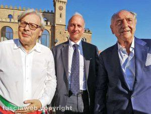 Vittorio Sgarbi, Marco Bussetti ed Emannuele Emanuele