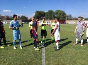 Sport - Calcio - Flaminia - I rossoblù in campo
