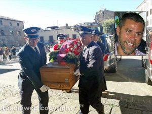 Bolsena - I funerali di Paolo Parrino