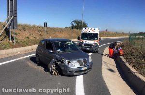 Vetralla - L'incidente sulla Superstrada Vetralla - L'incidente sulla Superstrada