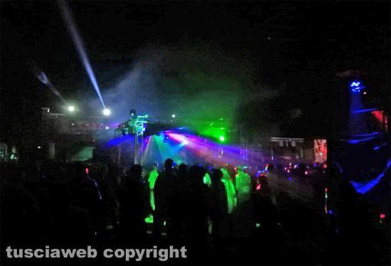 Il rave party alla centrale di Montalto di CastroIl rave party alla centrale di Montalto di Castro