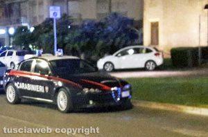 Viterbo - Intervento dei carabinieri al Sacrario
