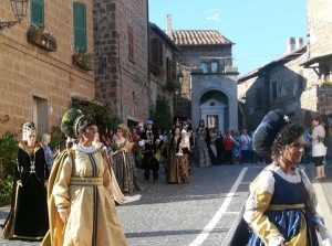 La festa a Barbarano Romano