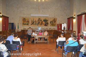 Tarquinia - Un momento dell'incontro sulla scuola
