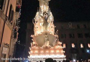 Viterbo - Santa Rosa - Gloria a piazza del Comune
