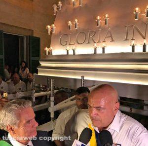 Viterbo - Santa Rosa - Gloria sul sagrato - Sandro Rossi con Giovanni Arena