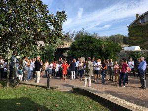 Viterbo - La passeggiata in ricordo di Rodolfo Salcini