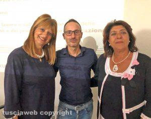 Viterbo - Silvia Somigli, Paolo Pizzo e Simonetta Pachella