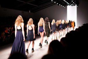 Una sfilata di moda