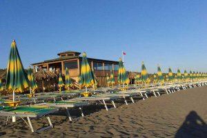 Montalto di Castro - Un chiosco in spiaggia