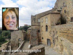 Civitella D'Agliano - Nel riquadro Lorena Tinelli
