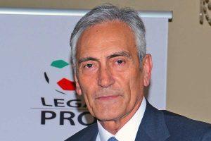 Sport - Calcio - Serie C - Il presidente della Lega Pro Gabriele Gravina