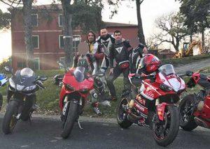 Al centro: Antonio Tortolini, Mauro De Angelis e Andrea Manca