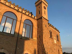 Sutri - La torre dell'Orologio a Palazzo Doebbing