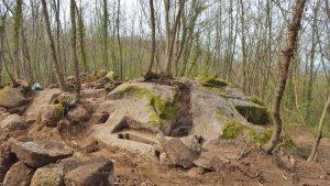 Gli scavi al complesso rupestre di Pietramara