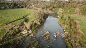 Il fiume Fiora a Vulci