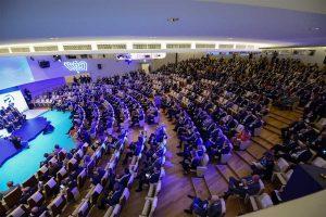 Roma - L'assemblea di Unindustria