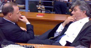 Il professor Pierfrancesco Bruno (a sinistra) e l'avvocato Enrico Valentini
