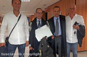 Tribunale - Gli ex sindaci Cuzzoli e Sangiorgi dopo la sentenza d'assoluzione