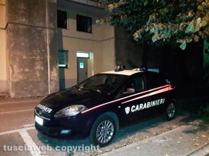 Montefiascone - L'intervento dei carabinieri all'ospedale