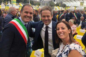 Roma - Sergio Caci al Villaggio contadino della Coldiretti