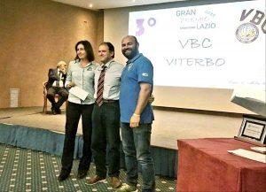 Sport - Pallavolo - Vbc Viterbo premiata al Gran premio giovani 2017/2018