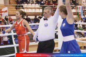 Sport - Boxe - Il match tra Melissa Gemini e Zofiya Stackhovyak